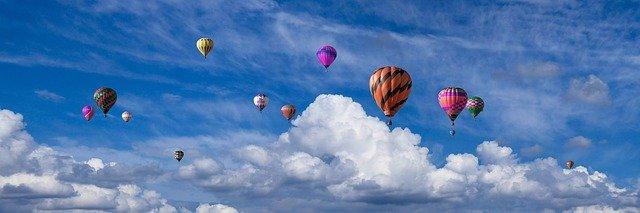 Onde andar de balão em Santa Catarina
