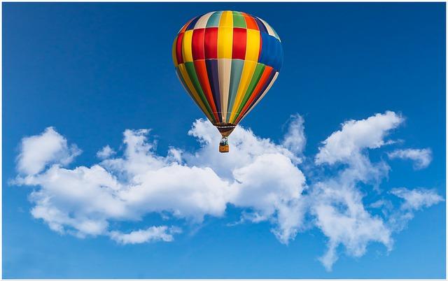 Passeio de balão em SC valor