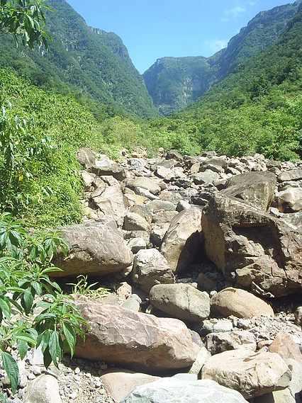Trilha do Rio do Boi em Praia Grande SC